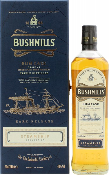 Bushmills Rum Cask The Steamship Collection