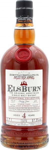 Elsburn 4 Jahre 2016/2021 Sherry Single Cask Whiskyzone.de