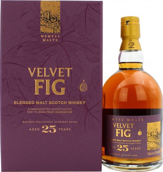 Wemyss Malts Velvet Fig 25 Jahre Sherry Cask