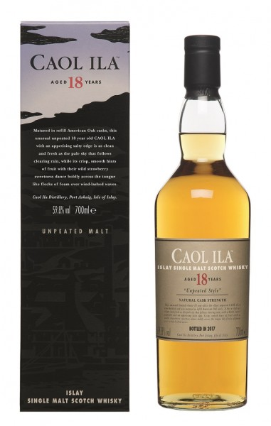 Caol Ila Special Release Unpeated 18 Jahre-/2017 59.8% 0,7l