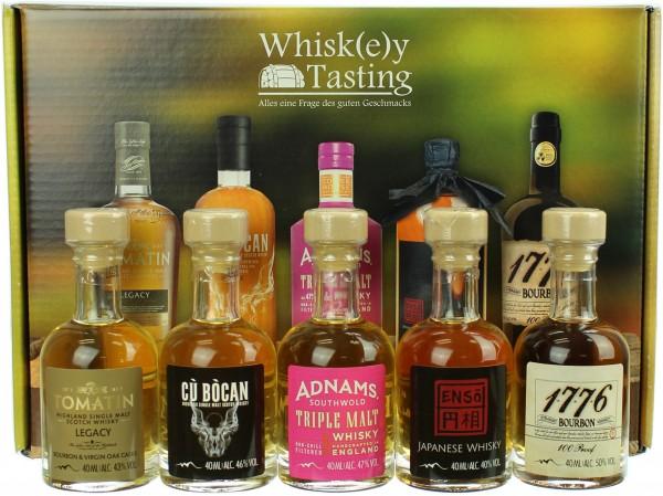 Sierra Madre Whisky Tasting Set 44.0% 5x40ml