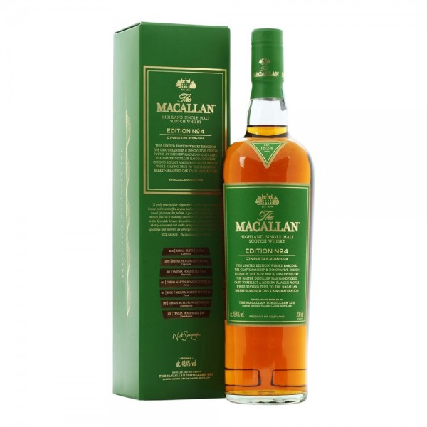Macallan Edition No. 4 48.4% 0,7l