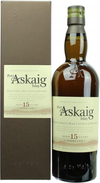 Port Askaig 15 Jahre Sherryfass 45.8% vol. 0,7l
