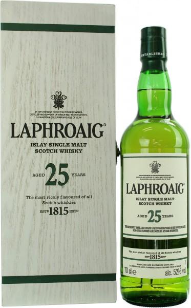 Laphroaig 25 Jahre Cask Strength 52.0% 0,7l