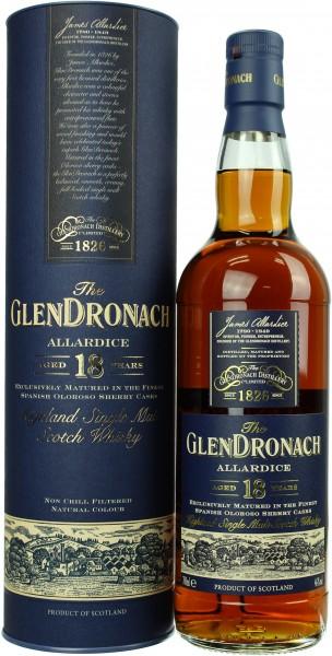 Glendronach Allardice 18 Jahre 46.0% 0,7l