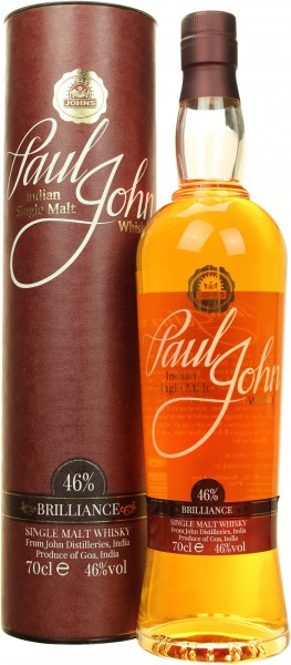Paul John Brilliance (Indien) 46.0% 0,7l