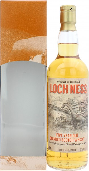 Loch Ness 5 Jahre Blended Whisky Duncan Taylor