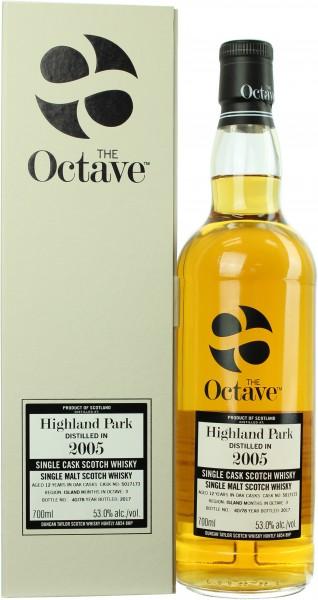 Highland Park 12 Jahre 2005/2017 Octave 53.0% 0,7l
