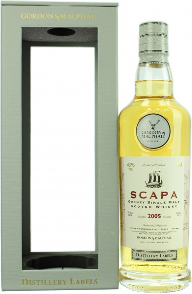 Scapa 2005/2019 Distillery Label G&M 43.0% 0,7l