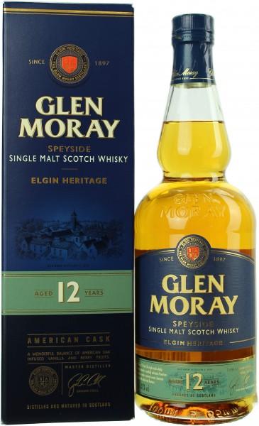 Glen Moray 12 Jahre 40.0% 0,7l