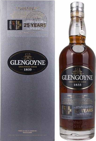 Glengoyne 25 Jahre The First Fill 46.0% 0,7l