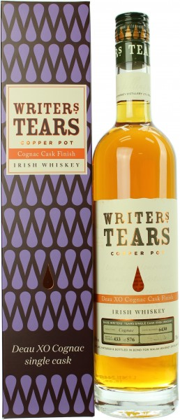 Writer's Tears Cgnac Finish 46.0% 0,7l
