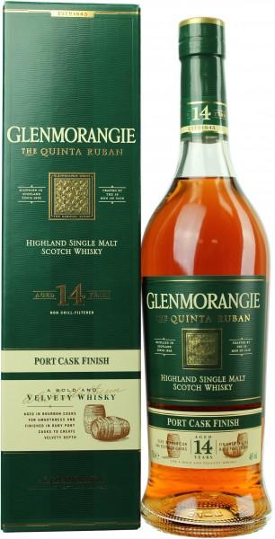 Glenmorangie Quinta Ruban Port 14 Jahre 46.0% 0,7l