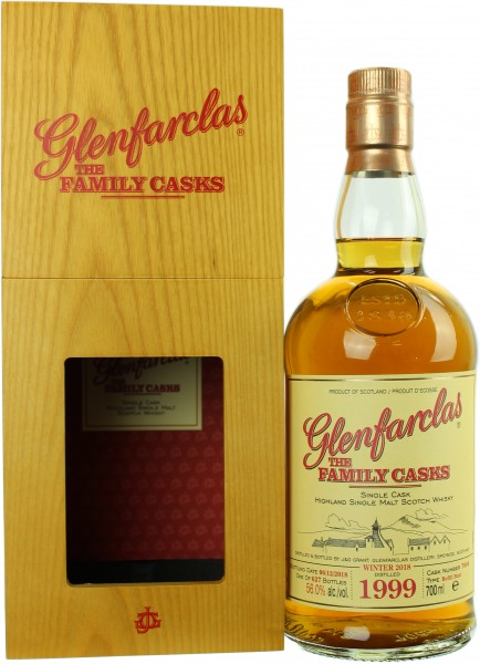 Glenfarclas The Family Casks 19 Jahre 1999/2018 W18 56.0% 0,7l