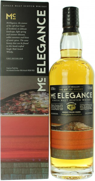 Mc Elegance Sherry Cask Finish House of McCallum 43.5% 0,7l