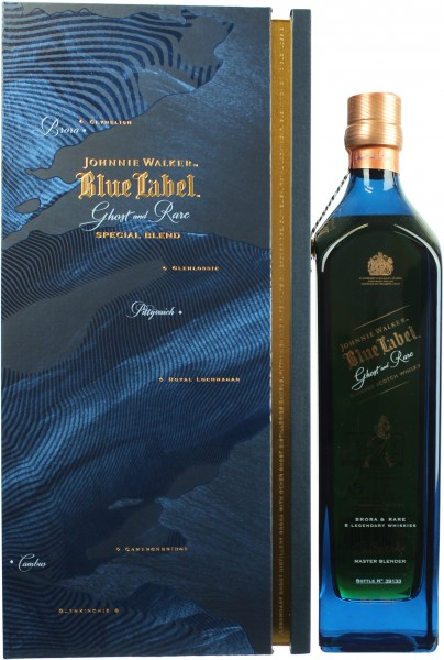 Johnnie Walker Blue Label Ghost and Rare 1. Edition