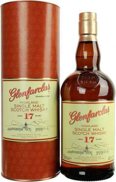 Glenfarclas 17 Jahre 43.0% 0,7l