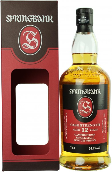 Springbank 12 Jahre Cask Strength 2019 Batch #18 54.8% 0,7l