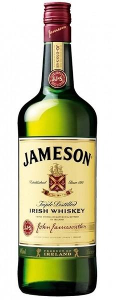 Jameson Irish Whiskey 1 Liter