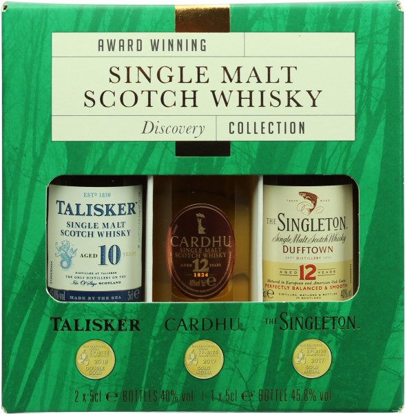 Diageo Classic Malt Discovery Collection