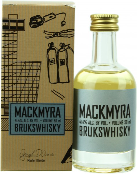 Miniatur Mackmyra  Bruks (Schweden) 41.4% 0,05l