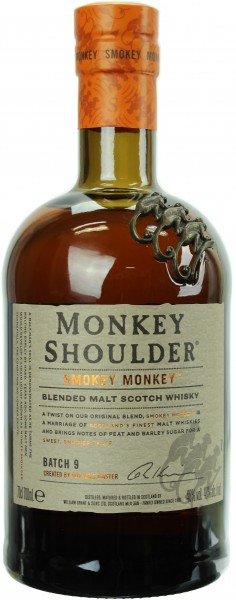 Monkey Shoulder Smokey Monkey 40.0% 0,7l