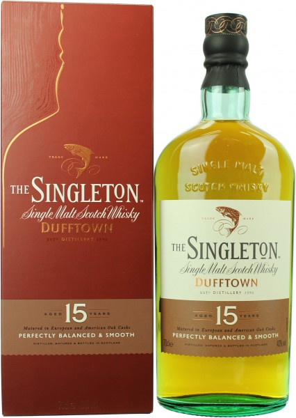 The Singleton of Dufftown 15 Jahre 40.0% 0,7l