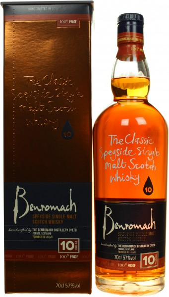 Benromach 100 Proof 10 Jahre 57.0% 0,7l