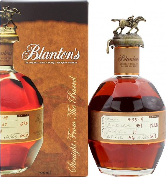 Blanton's Straight from the Barrel 64.9