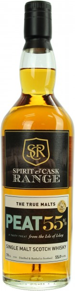 Islay Single Malt Spirit & Cask Range Peat Cask Strength 55