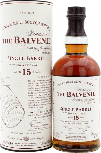 Balvenie Single Barrel Sherry Cask 15 Jahre Cask #11175