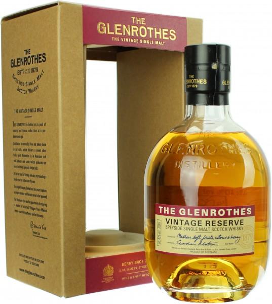 Glenrothes Vintage Reserve 40.0% 0,7l
