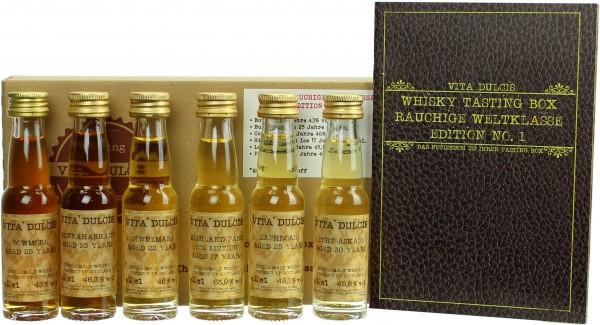 "Whisky Tasting-Box ""Rauchige Weltklasse"""