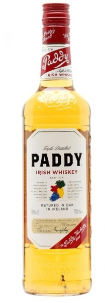 Paddy Irish Whiskey 40.0% 0,7l