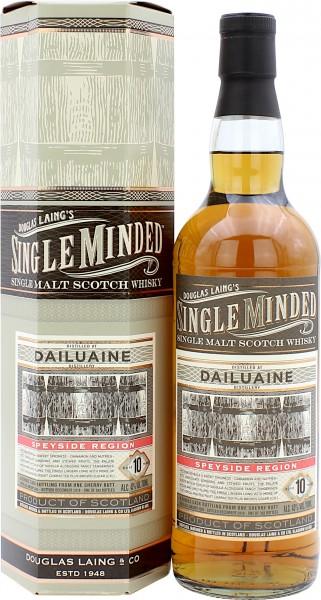 Dailuaine 10 Jahre 2009/2019 Sherry Cask Single Minded Douglas Laing