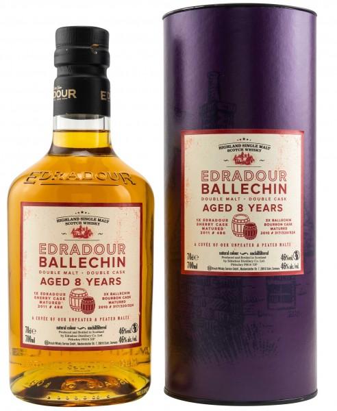 Edradour Ballechin 8 Jahre Cuvee 2011/2020