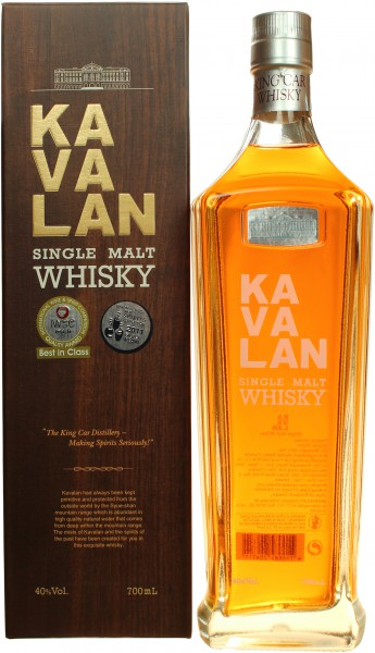 Kavalan Single Malt (Taiwan) 40.0% 0,7l