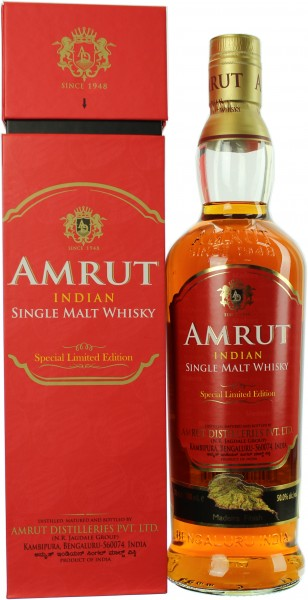 Amrut Madeira Finish Limited Edition (Indien) 50.0% 0,7l