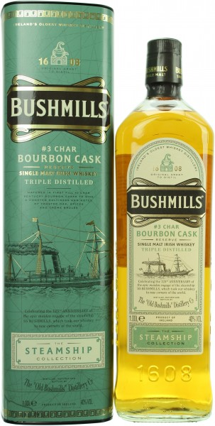 Bushmills Bourbon Cask The Steamship Collection