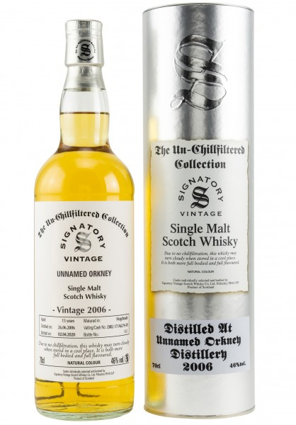 Unnamed Orkney 13 Jahre 2006/2020 Signatory Un-Chillfiltered
