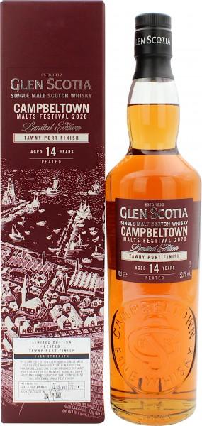 Glen Scotia 14 Jahre Peated Tawny Port Finish Campbeltown Malts Festival