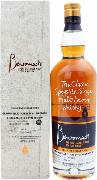 Benromach 2010/2019 First Fill Sherry Cask German Selection