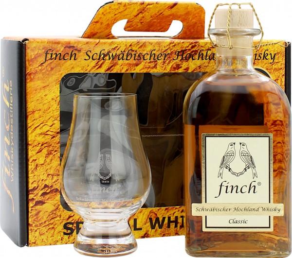 Finch Classic 5 Jahre Geschenkset mit Glencairn Glas (Deutschland)