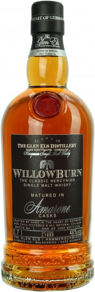 Willowburn Amarone Cask Matured 2019 Batch 1 46.0% 0,7l