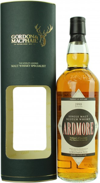 Ardmore 18 Jahre 1998/2016 Distillery Label G&M 43.0% 0,7l