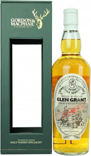 Glen Grant 40 Jahre G&M 40.0% 0,7l