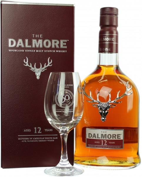 Dalmore 12 Jahre mit Dalmore Nosing Glas 40.0% 0,7l