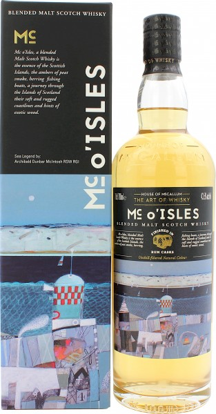 Mc of the Isles Caribbean Rum Finish House of McCallum