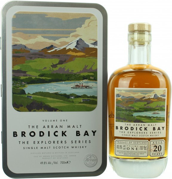 Arran 20 Jahre Brodick Bay The Explorers Series #1 49.8% 0,7l