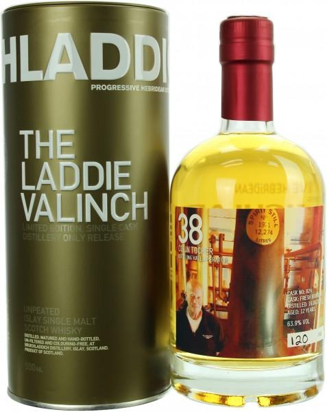 Bruichladdich The Laddie Valinch No. 38 Colin Tocher